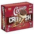 Crush cono de helado sabor vainilla y brownie Caja 4 u x 90 ml - 360 ml Cornetto Frigo