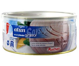 Auchan Atún en aceite de girasol 650 gramos