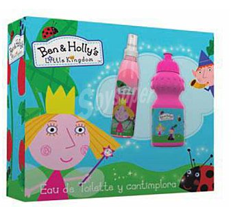 BEN + HOLLY LOTE INFANTIL EAU DE TOILETTE 125 ml + BOTELLA CANTIMPLORA 1 lote