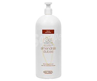 Bactinel Gel de baño o ducha con aceite de almendras dulces Dosificador 750 ml