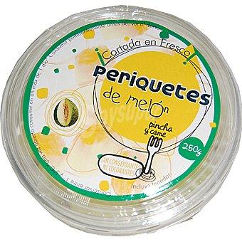 PERIQUETE Melón listo para tomar (contiene tenedor) Tarrina 250 g