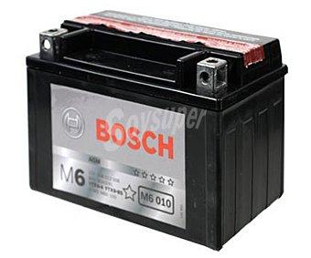 Bosch Batería de moto de 12v y 8 Ah, con potencia de arranque de 80 Amperios y medidas de 152x88x106 milímetros 1 unidad