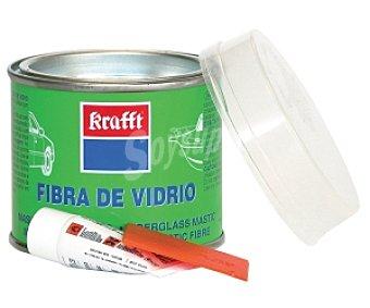 Krafft Bote de masilla de fibra de vidrio + espátula aplicadora + endurecedor 250 gramos