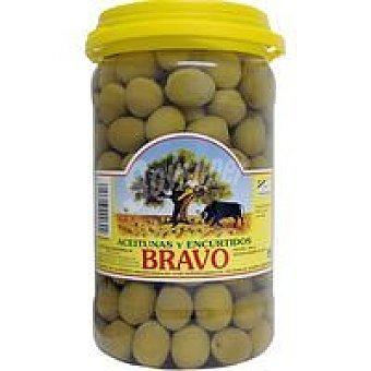 Bravo Aceitunas sevillanas sabor anchoa Frasco 900 g