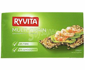 Ryvita Pan integral de centeno con cereales y semillas tostadas 250 Gramos