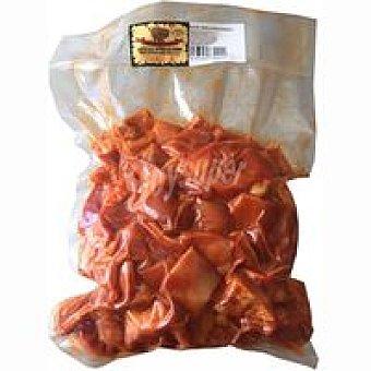SIERRA de PEÑAS Oreja adobada cocida Bandeja 500 g