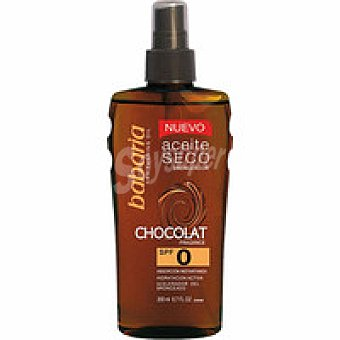 Babaria Aceite solar de chocolate F0 Spray 200 ml