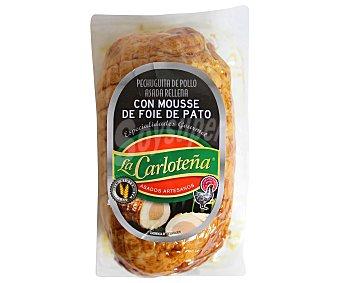 La Carloteña Pechuguita de Pollo con Mousse y Foie de Pato 350 Gramos