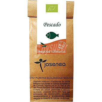 JOSENEA Mezclas Culinarias Bio especial para Pescado  envase de 30 g