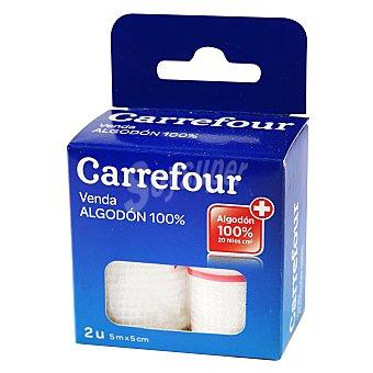 Carrefour Venda de algodón de 5 m. x 5 cm. 2 ud