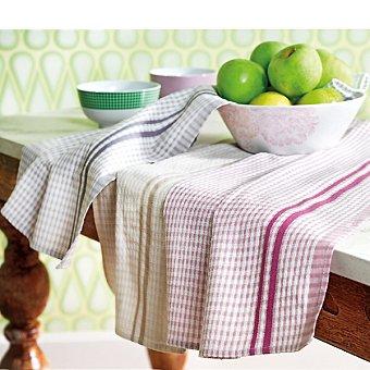 CASACTUAL set de 3 paños de cocina jacquard multicolor