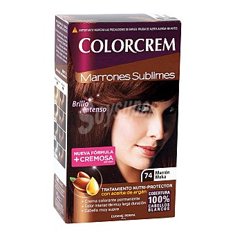 Colorcrem Tinte Marrón Moka Nº 74 caja  1 ud