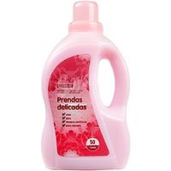 Eroski Detergente líquido prendas delicadas Botella 50 dosis