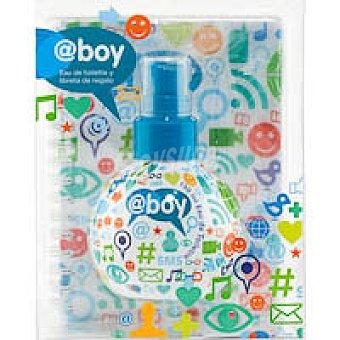 Eau de toilette @boy Vaporizador 150 ml + Libreta
