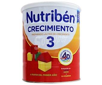 NUTRIBÉN 3 Leche de crecimiento 800 Gramos