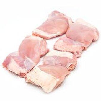 Eroski Filete de muslo de pollo 8-10 unid