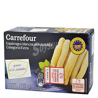 Carrefour Espárragos blancos de Navarra 220 g