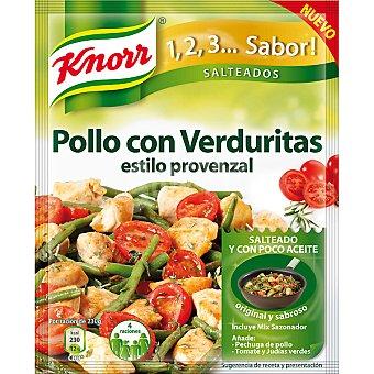 Knorr Sazonador de pollo con verduritas estilo provenzal Sobre 31 g