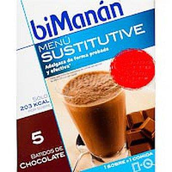 Bimanan Batido de chocolate Caja 5 unidades