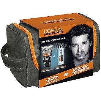 L'Oréal Men Expert Kit Piel con barba con crema hidratante diaria... 50 ml