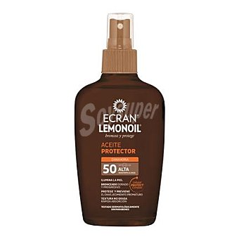 Ecran Aftersun Aceite protector zanahora FP 50 spray 200 ml