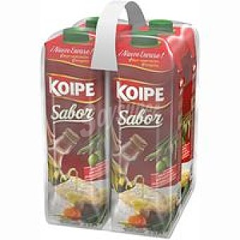 KOIPE Sabor Aceite de oliva Pack 4x1 litro