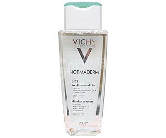 Vichy Normaderm Solución micelar desmaquillante para pieles sensibles 200 ml