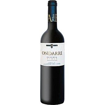 Ondarre Vino tinto reserva D.O. Rioja Botella 75 cl