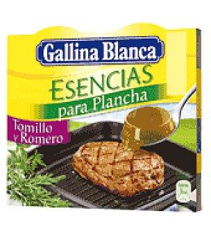 Gallina Blanca Esencia Tomillo/romero Pack de 4x15 g