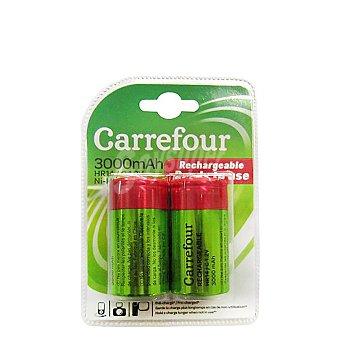 Carrefour Pack de Pilas Recargable Hr14 ( C ) 3000 Mah 2 ud