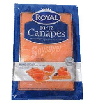 Royal Pescados Salmón ahumado canapes 120 g