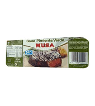 Musa Salsa pimienta verde Pack de 3x60 ml