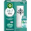 Ambientador Nenuco- Aparato+ Recambio 250 ml Air Wick Freshmatic