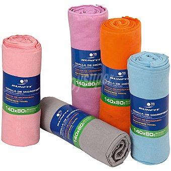 RUNFIT Toalla de microfibra 140 x 80 cm con gran poder de absorción y secado en colores surtidos
