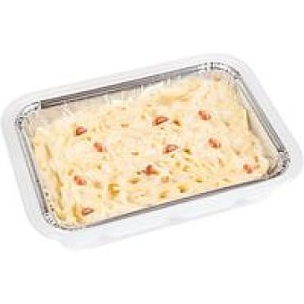 Bo de Debo Espaguetis a la carbonara Bandeja 350 g