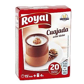 Royal Cuajada azucarada para preparar 5 sobres estuche 60 grs Estuche 60 grs