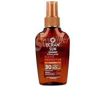 Ecran Aftersun Aceite solar broncea y protege con factor protección 30 (alta) 100 mililitros