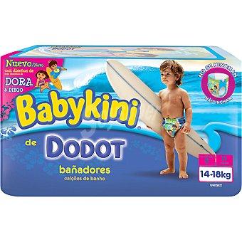 DODOT BABYKINI Pañal bañador desechable 14 a 18 kg talla 5 bolsa 11 unidades