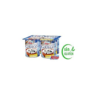 Kalise Yogur Griego Stracciatella Pack de 4 x 125 g