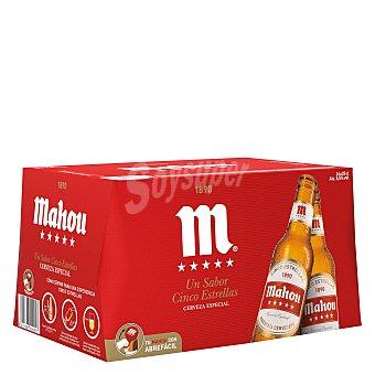 Mahou 5 Estrellas Cerveza Pack 24x25 cl