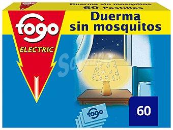 Fogo Insecticida Recambio Electrico pastillas Caja 60 u