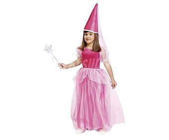 My other me Disfraz infantil de Hada Rosa, incluye vestido y sombrero,talla 10-12 años viving costumes.