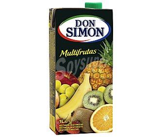 Don Simón Néctar multifrutas (naranja, piña, plátano, uva, manzana, kiwi, fresa y limón) 1 litro