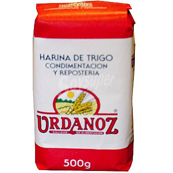 Urdanoz Harina de trigo para condimentación y repostería Paquete 500 g