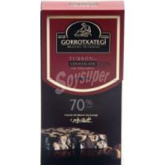 Gorrotxa Turrón de chocolate con almendras Estuche 200 g