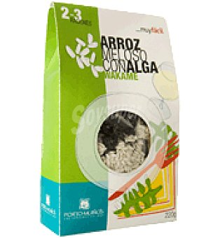 Porto Muiños Arroz meloso con alga wakame 220 g
