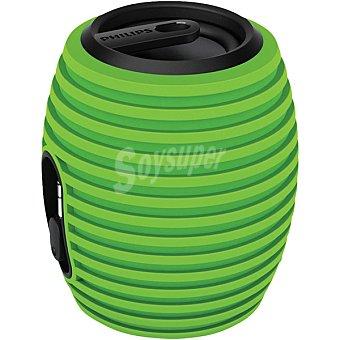 Philips SBA3010OGRN/00 Altavoz portátil para ipod / iphone y smartphones en color verde