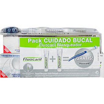 Fluocaril BLANQUEADOR + REGALO 200ML 125 + 75 ML