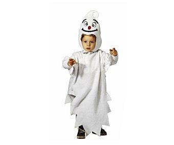 WIDMANN Disfraz infantil Fantasma talla 2-3 años, Halloween Fantasma 2-3 años