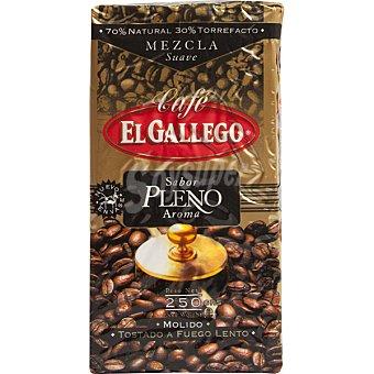 El Gallego Cafe molido mezcla 70-30 Paquete 250 g
